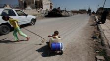 U.N. condemns strike behind Aleppo's water cut
