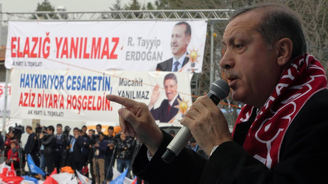 Erdogan has previously taken threatened drastic steps to censor the Internet, including shutting down Facebook and YouTube. (File photo: AP)