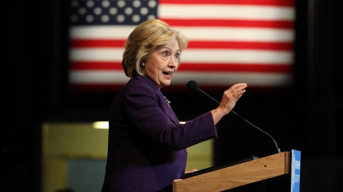 Democratic presidential candidates Hillary Clinton at the NHDP annual Jefferson Jackson dinner in Manchester, N.H. (AP)