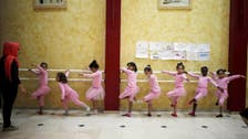 Gaza's only ballet school a haven of calm for traumatized girls