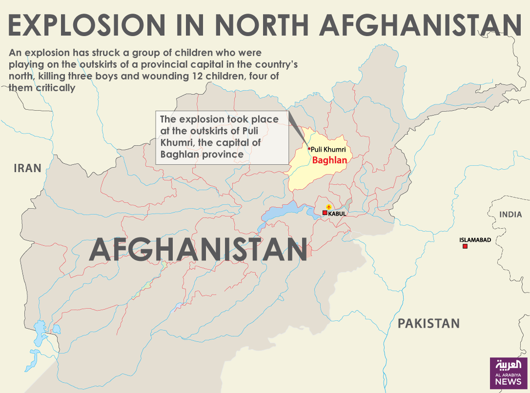 Infographic: Explosion in north Afghanistan