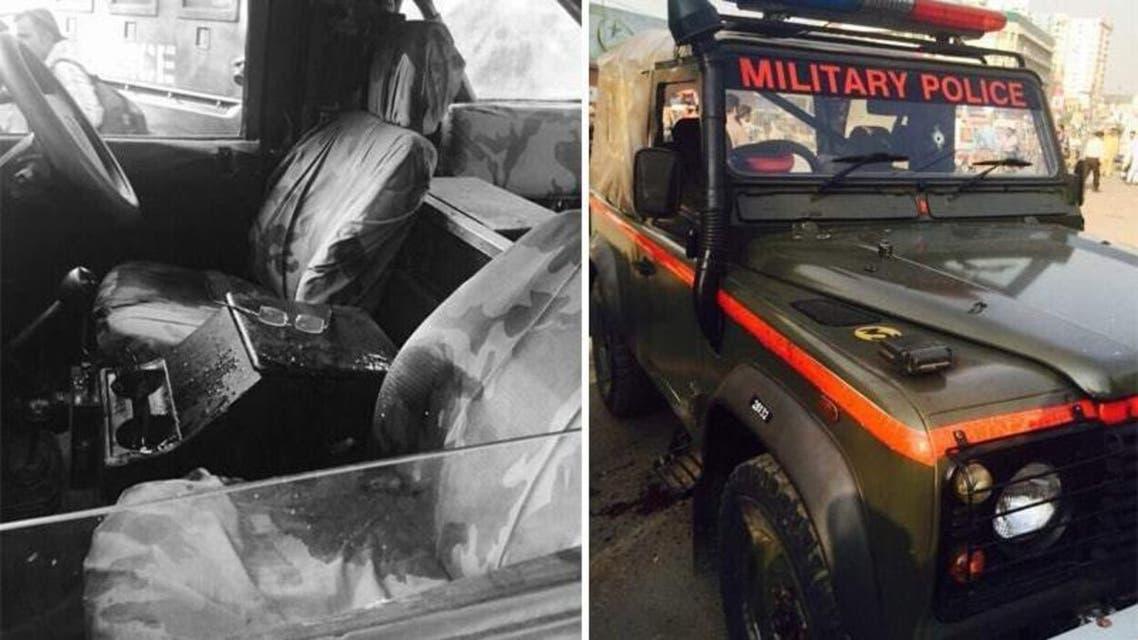 Karachi M Police Van