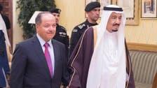 Saudi King Salman holds talks with KRG's Barzani