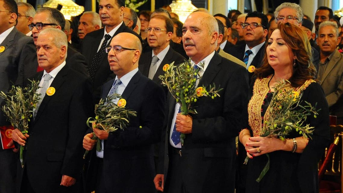 Tunisian leaders of the organizations that form the Tunisian National Dialogue Quartet that won the 2015 Nobel Peace Prize for steering the country away from civil war and toward democracy after its 2011 revolution. (File photo: AP)