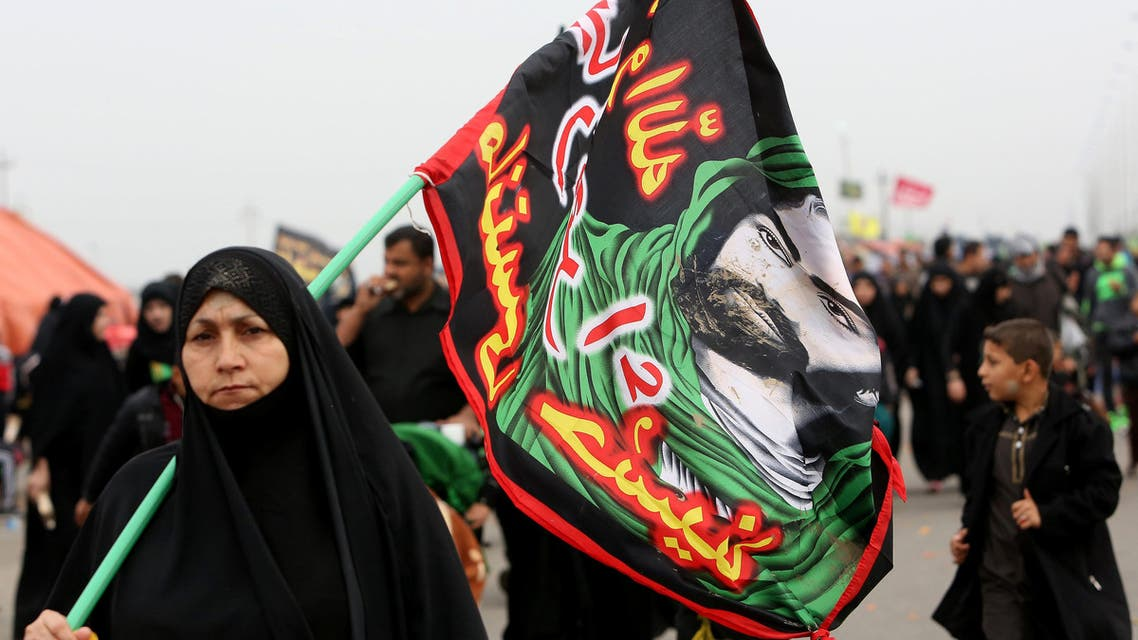 Shiite pilgrims make their way to Karbala for Arbaeen, in Basra, 340 miles (550 kilometers) southeast of Baghdad, Iraq, Thursday, Dec. 3, 2015.