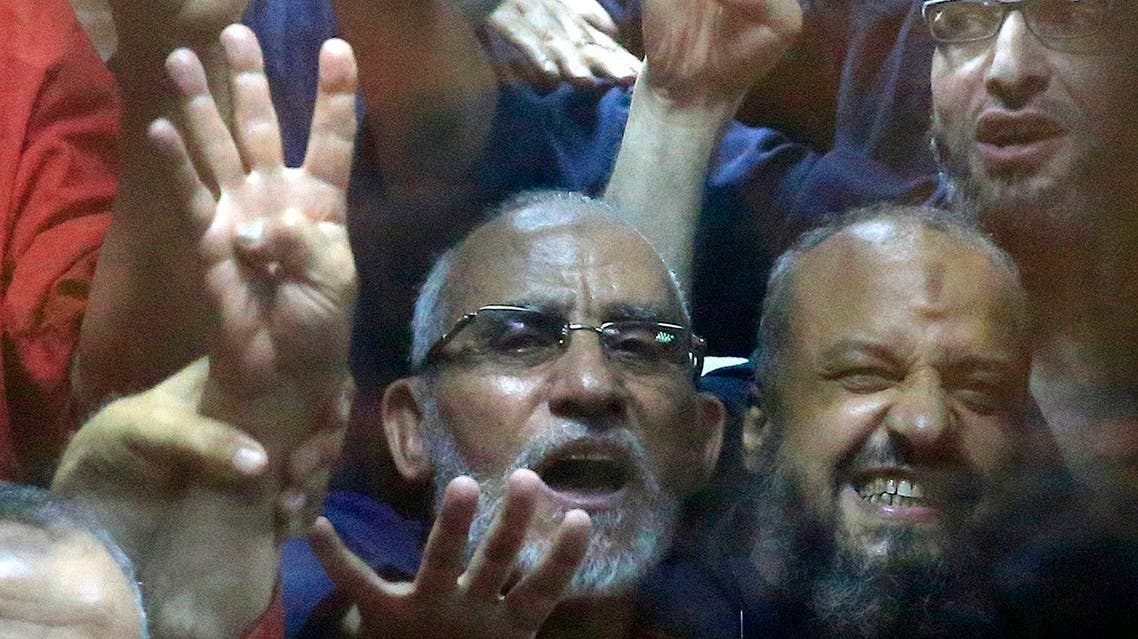 Mohamed Badie, head of Muslim Brotherhood, along with thousands of other members have been jailed in a crackdown on the group. (File photo: AP)