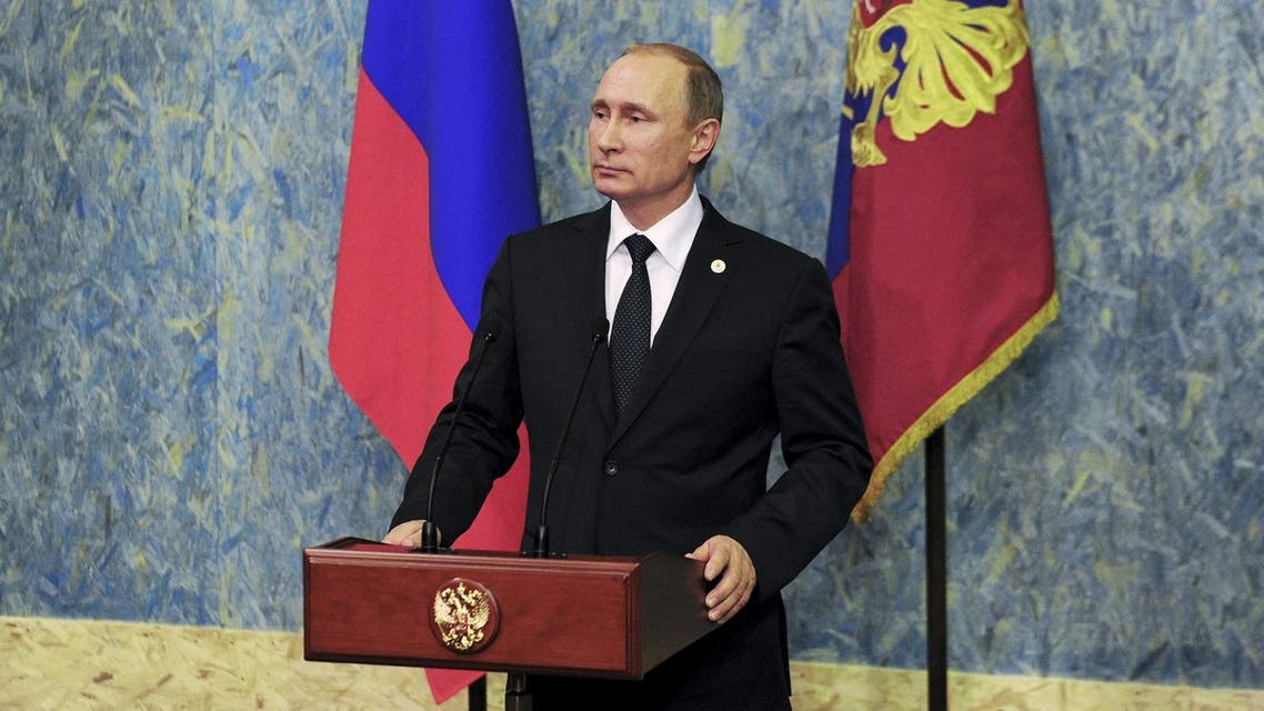 Russia president added that Moscow would not ignore Ankara's 'aiding of terrorists' at all. (File photo: Reuters)