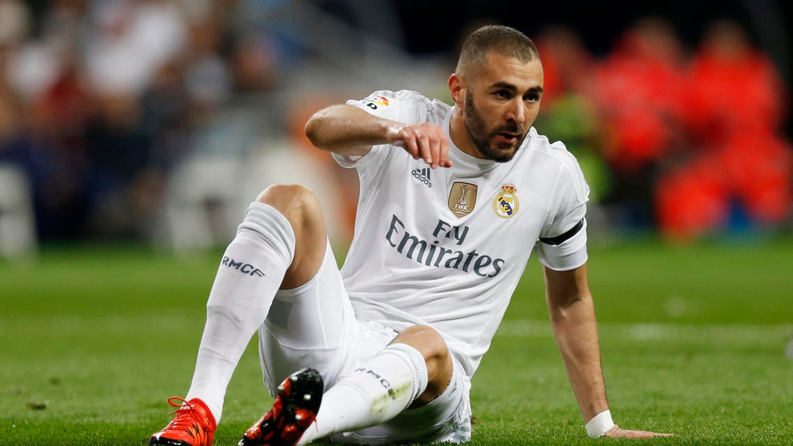 Football - Real Madrid v Barcelona - Liga BBVA - Santiago Bernabeu - 21/11/15 Real Madrid's Karim Benzema Reuters / Stringer Livepic
