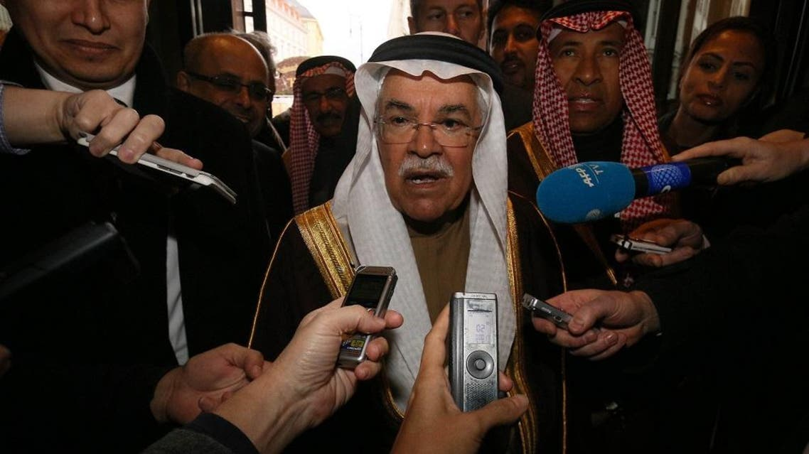 Saudi Arabia's Minister of Petroleum and Mineral Resources Ali Ibrahim Naimi speaks to journalists at a hotel in Vienna, Austria, Tuesday, Dec. 1, 2015 | AP