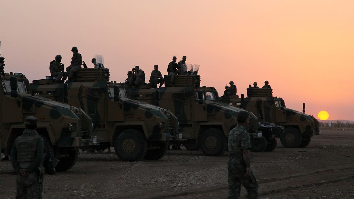 turkish soldiers AP