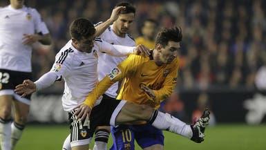 مينا يصدم برشلونة ويعيد أتليتكو والريال إلى المنافسة