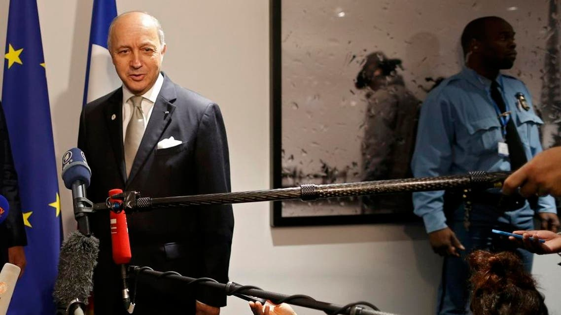French Foreign Affairs Laurent Fabius, President-designate of COP21, speaks to journalists as part of the World Climate Change Conference 2015 (COP21) at Le Bourget, near Paris, France, December 3, 2015 | Reuters