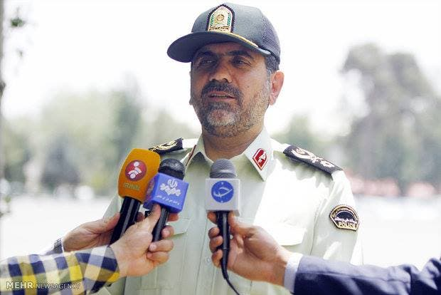 قائد شرطة طهران