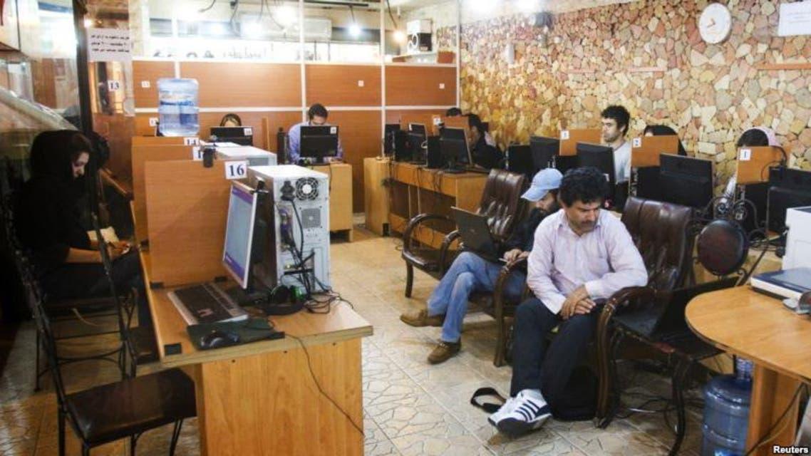 مقهى للانترنت في إيران