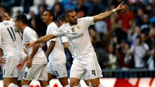 Karim Benzema ends Real's turbulent week with a win