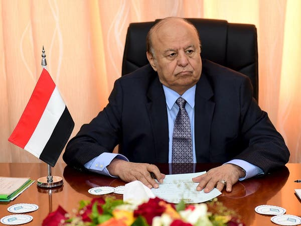 اليمن.. هادي يشيد بجهود السعودية في معالجة أحداث عدن