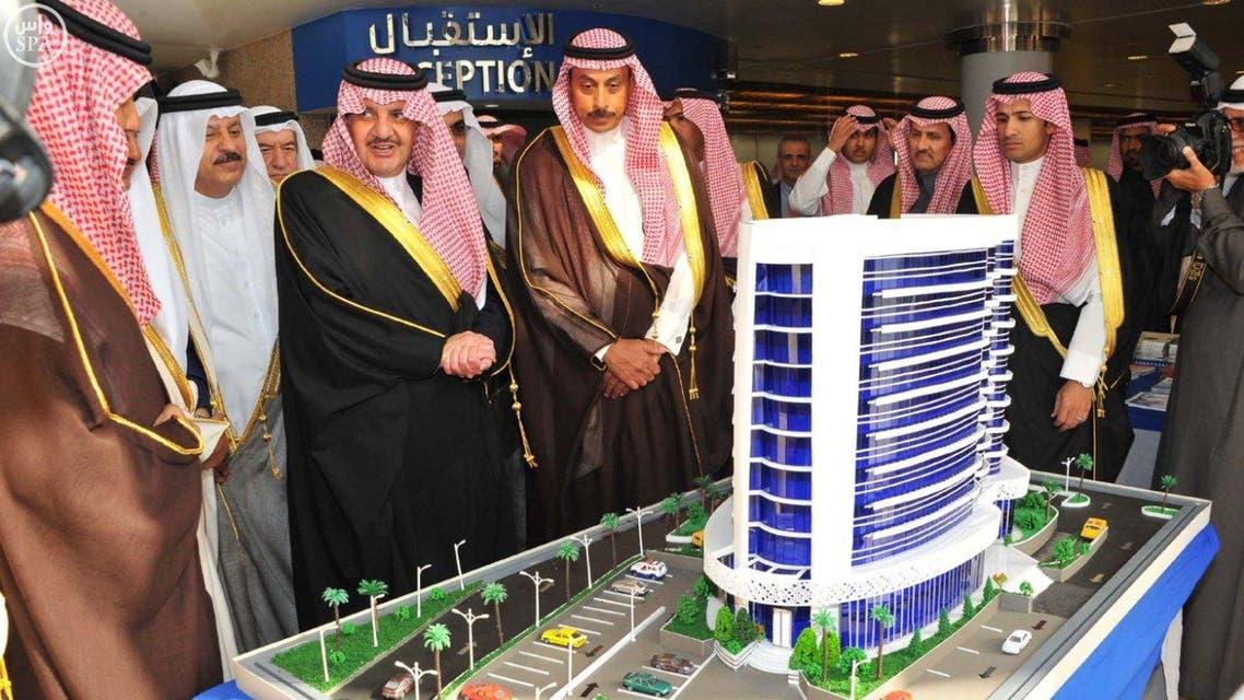 أمير المنطقة الشرقية يرعى حفل وضع حجر الأساس لمبنى اتحاد غرف دول مجلس التعاون الخليجي بالدمام