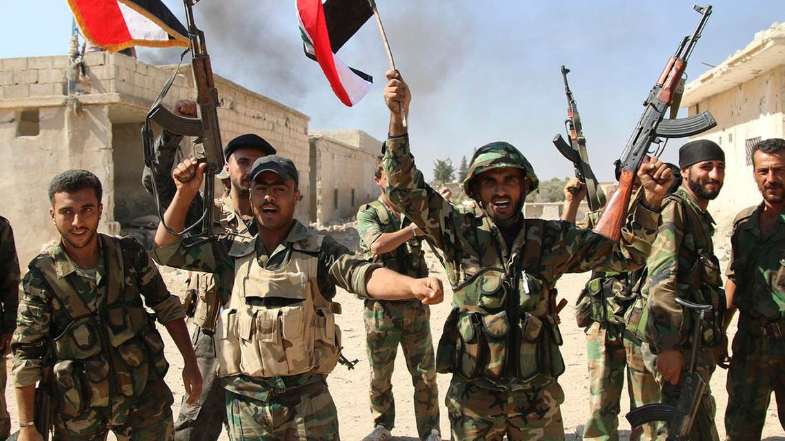 Syrian Observatory for Human Rights said the strike hit part of the Saeqa military camp near the town of Ayyash in western Deir al Zor province. (File photo: AP)