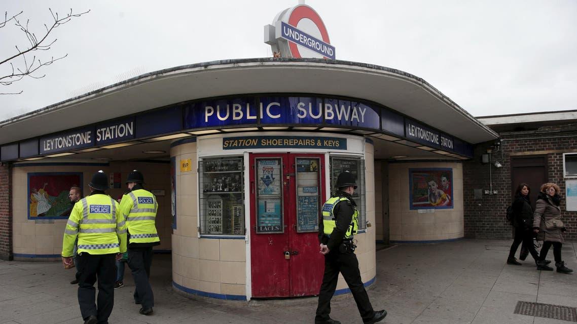 محطة المترو التي حصل فيها الهجوم لندن