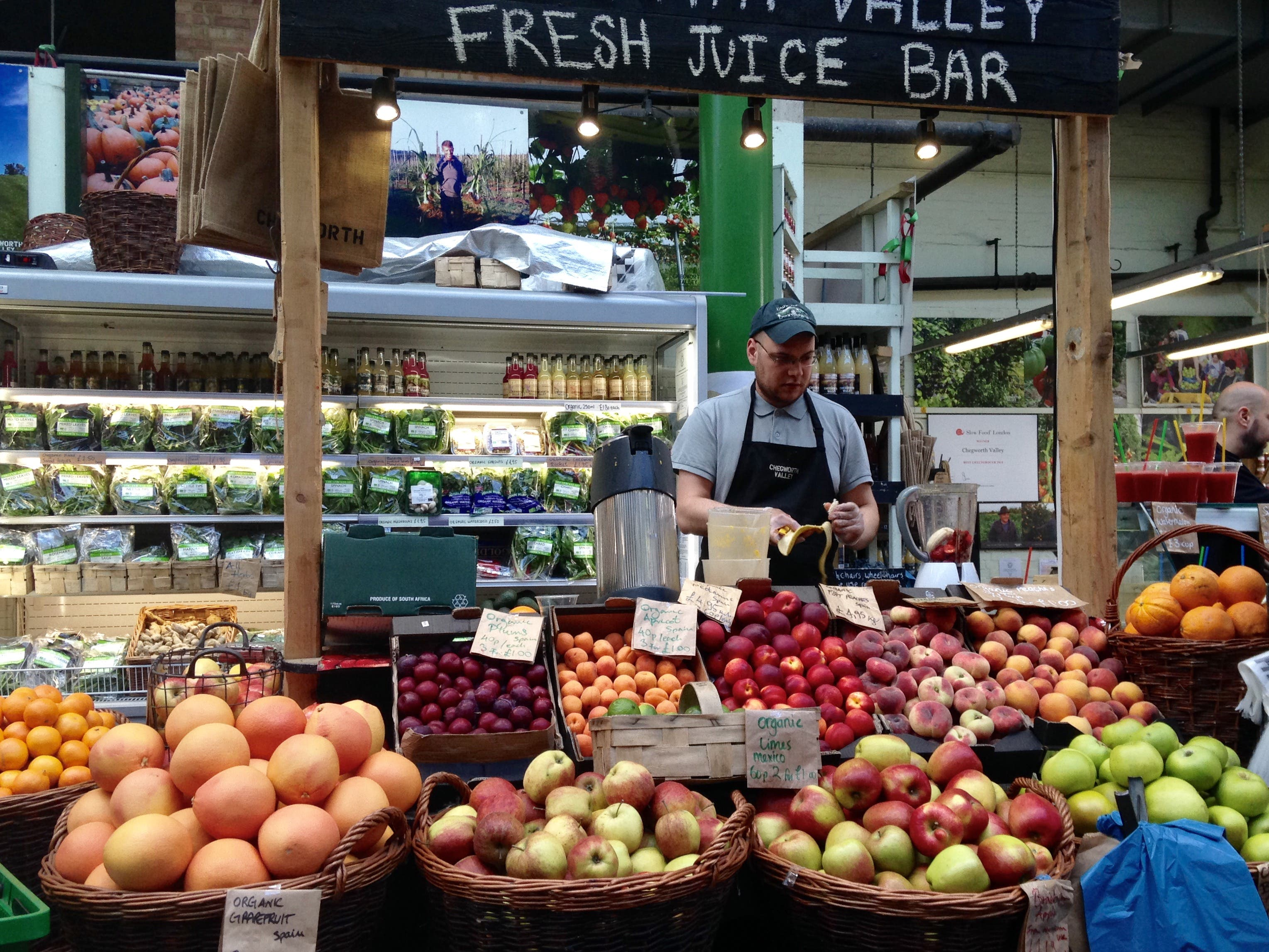 You can find many fruity choices at Borough Market. (Photo supplied)