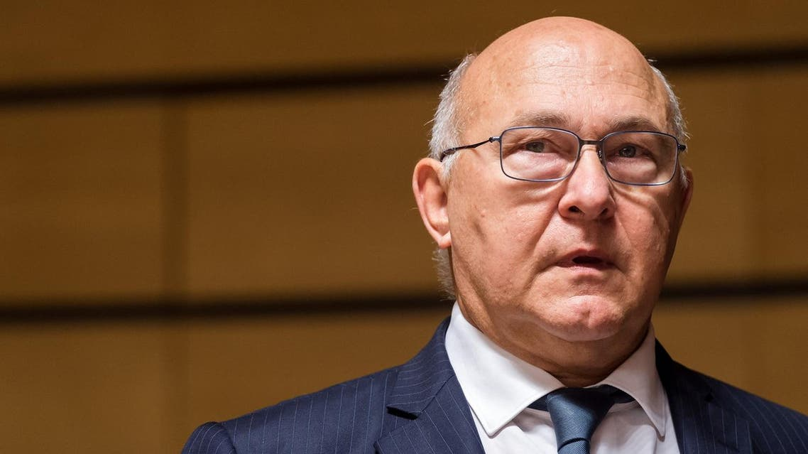 French Finance Minister Michel Sapin said: 'Terrorists are there, so we must act more quickly'. (File photo: AP)