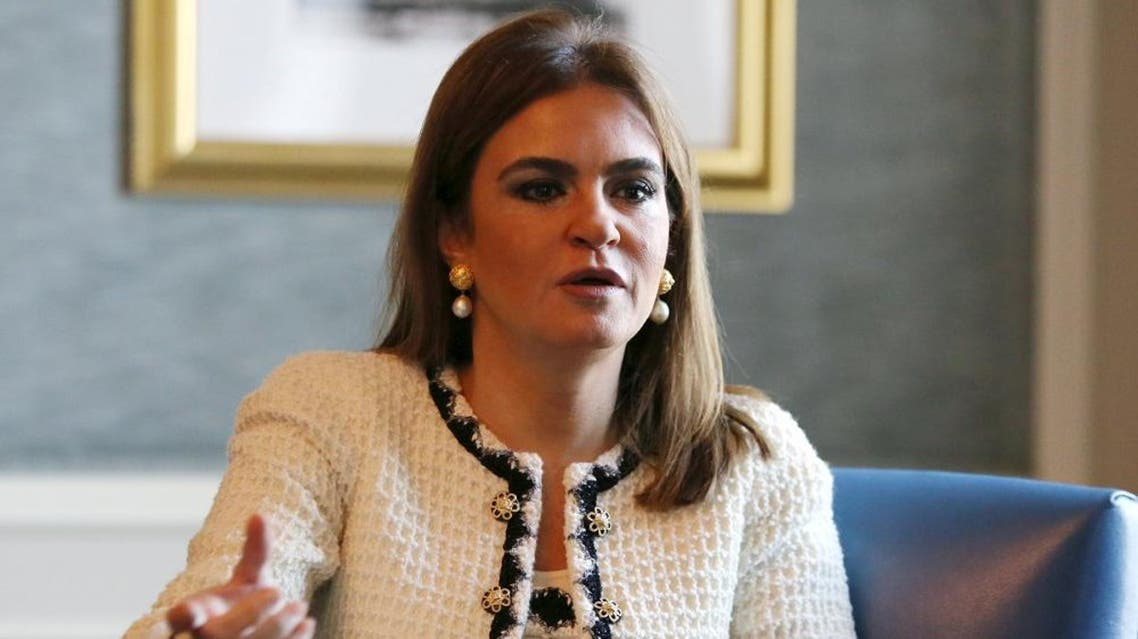 International Cooperation Minister Sahar Nasr talks during an interview with Reuters in Cairo, Egypt, December 8, 2015 | Reuters