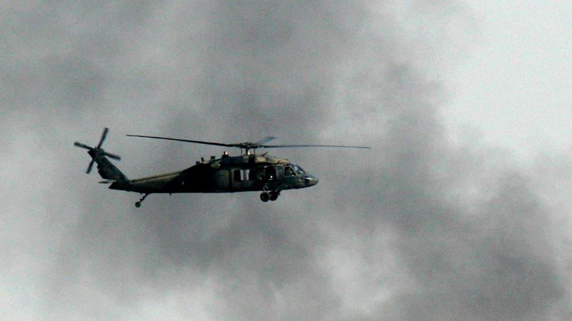 U. S. military blackhawk helicopter   AP