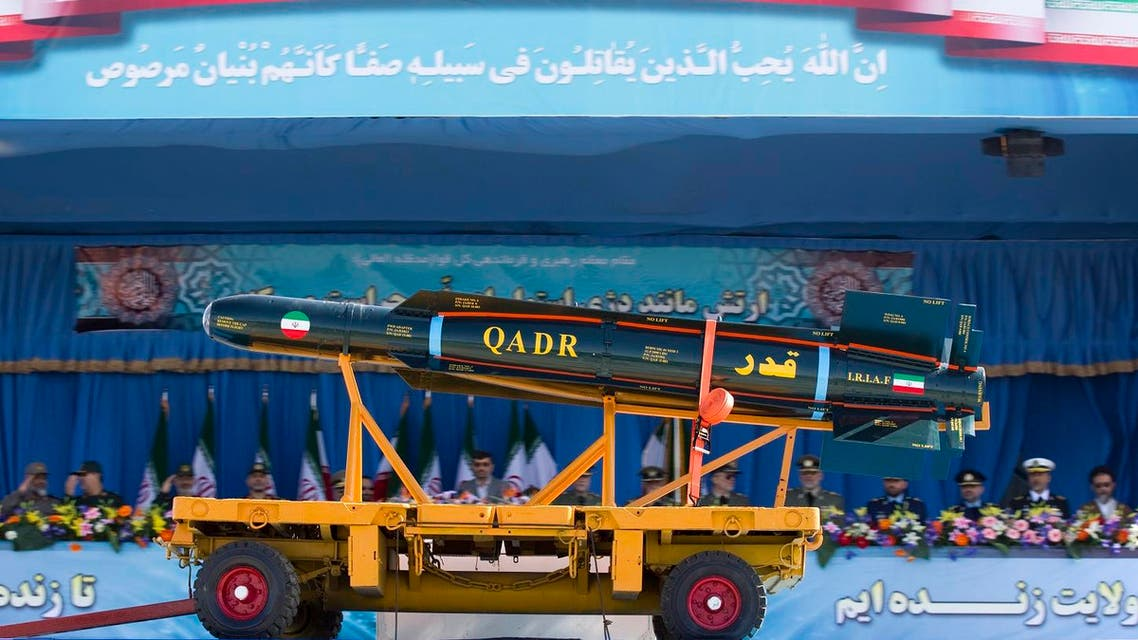 A Western diplomatic source said last week on condition of anonymity that the test of a Ghadr-110, a spinoff of the Shahab-3 missile, was held near Chabahar. (File photo: Reuters)