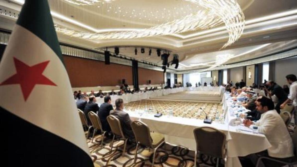 Representatives of Syria's opposition groups and armed factions fighting Assad's regime are holding talks for the first since 2011. (Al Arabiya)
