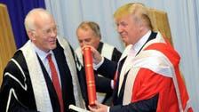 Scottish university withdraws Trump's honorary degree
