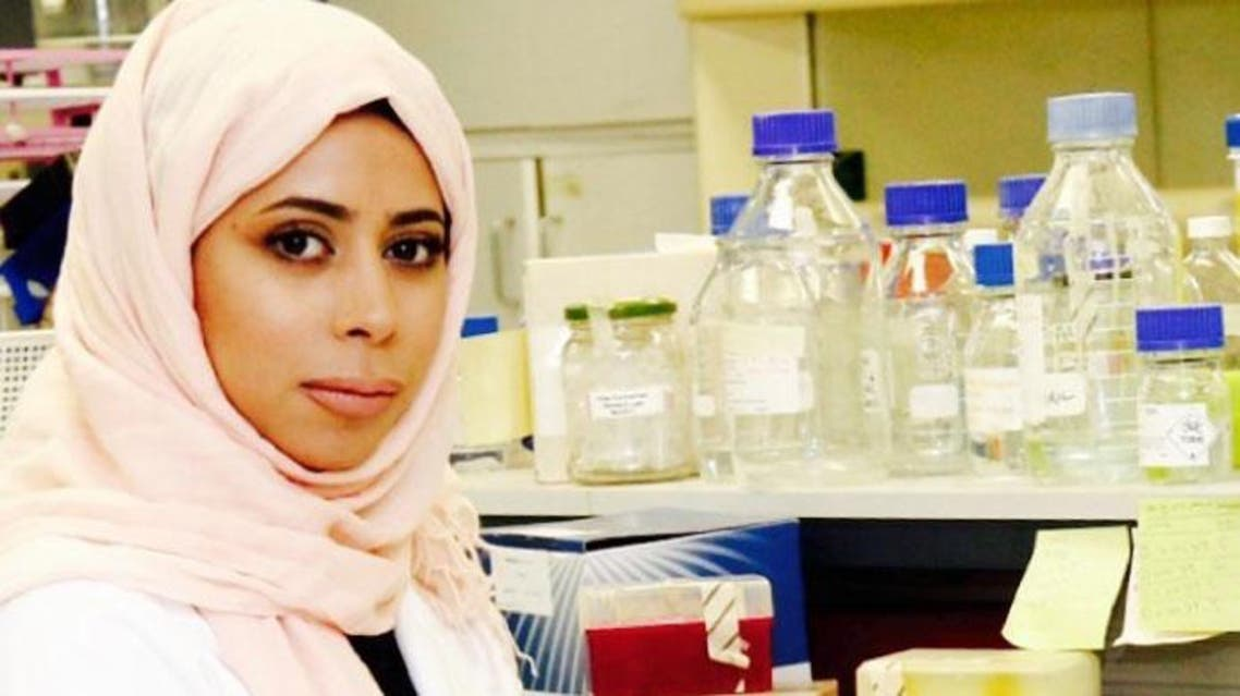 Basma Ashour Khallaf who has enrolled in Biotechnology and Biology PhD course at RMIT in Melbourne, Australia, published her project in International Water Association journal. (Photo: Saudi Gazette)