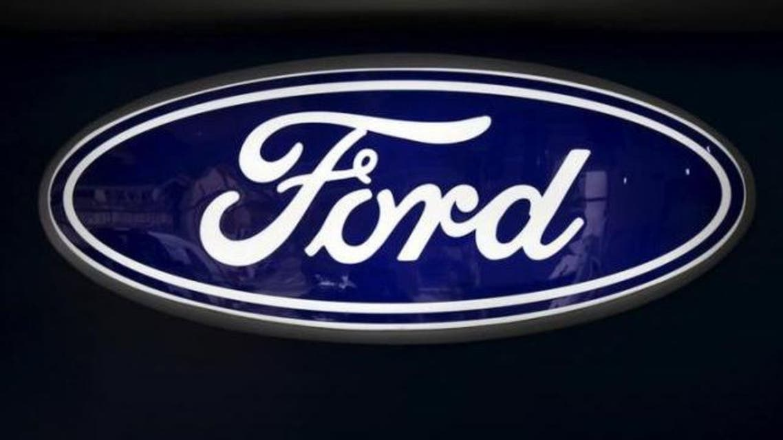 The corporate logo of Ford is seen at a Ford branch in Caracas March 27, 2015. (Reuters)