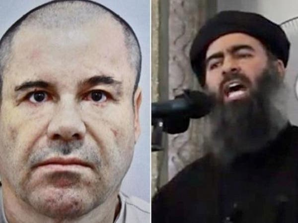 """بارون المخدرات المكسيكي يهدد خليفة """"داعش"""" بالدمار"""