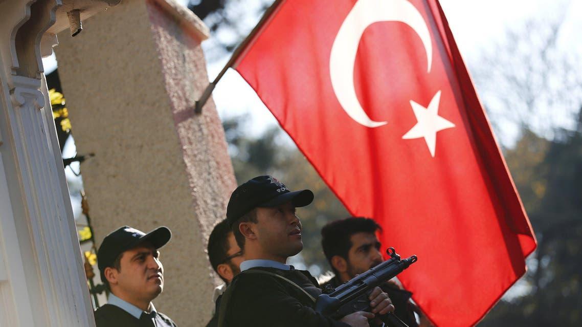الشرطة التركية (أرشيفية)