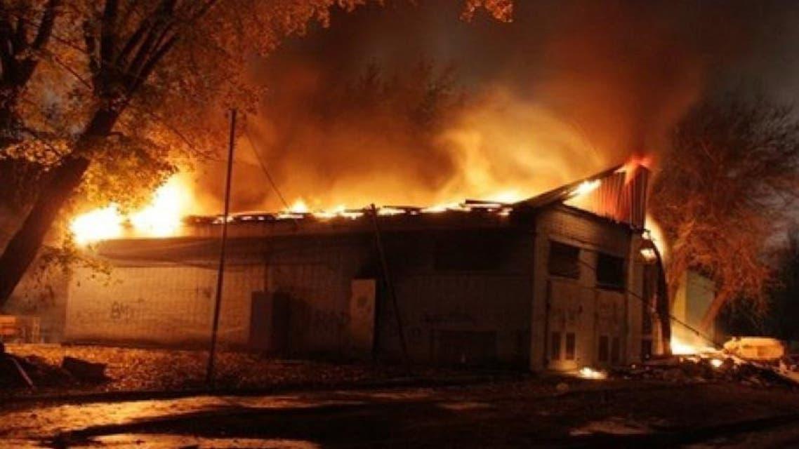 حريق في مستشفى للأمراض النفسية في روسيا