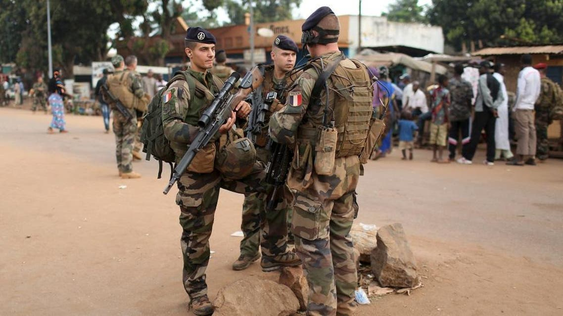 French peacekeeping soldiers patrol a street of the mostly muslim neighbourhood of PK 5 in Bangui, Central African Republic, November 25, 2015 | Reuters