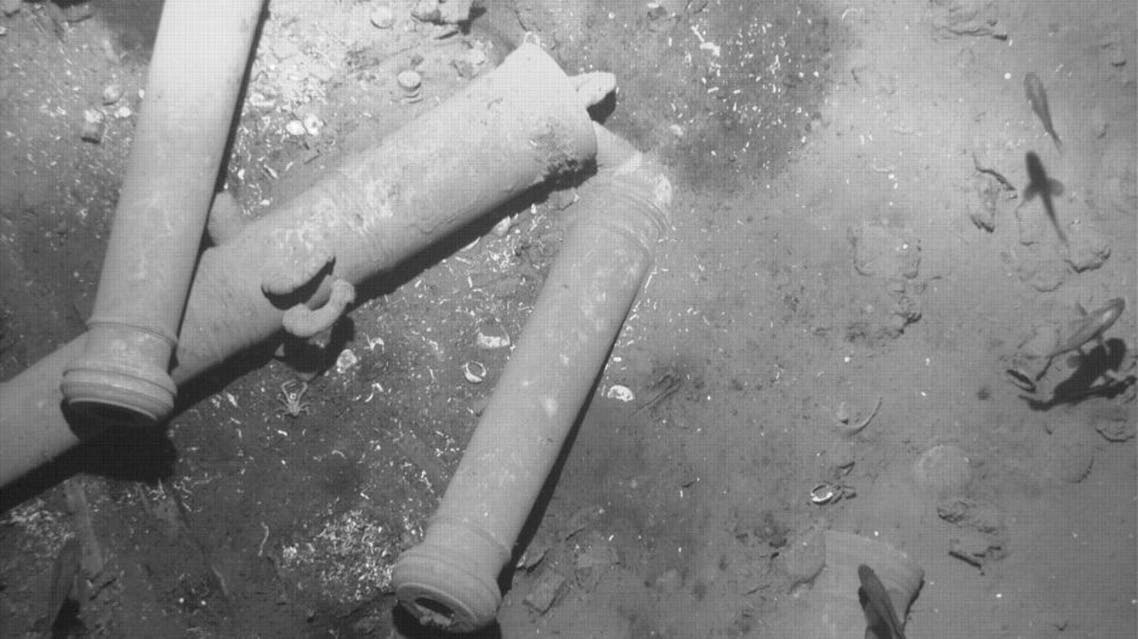 Artifacts found in the wreckage of Spanish galleon San Jose are seen in this undated handout photo provided by the Colombian Ministry of Culture on December 5, 2015 | Reuters