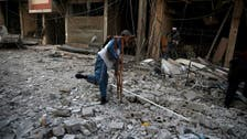 Dozens of civilians killed in Syrian rebel stronghold