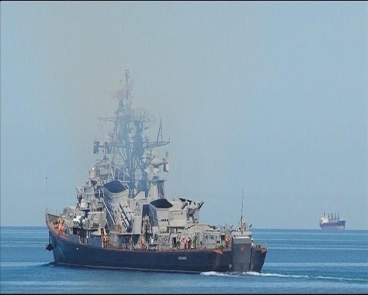 کشتی روسیه در دریای سیاه