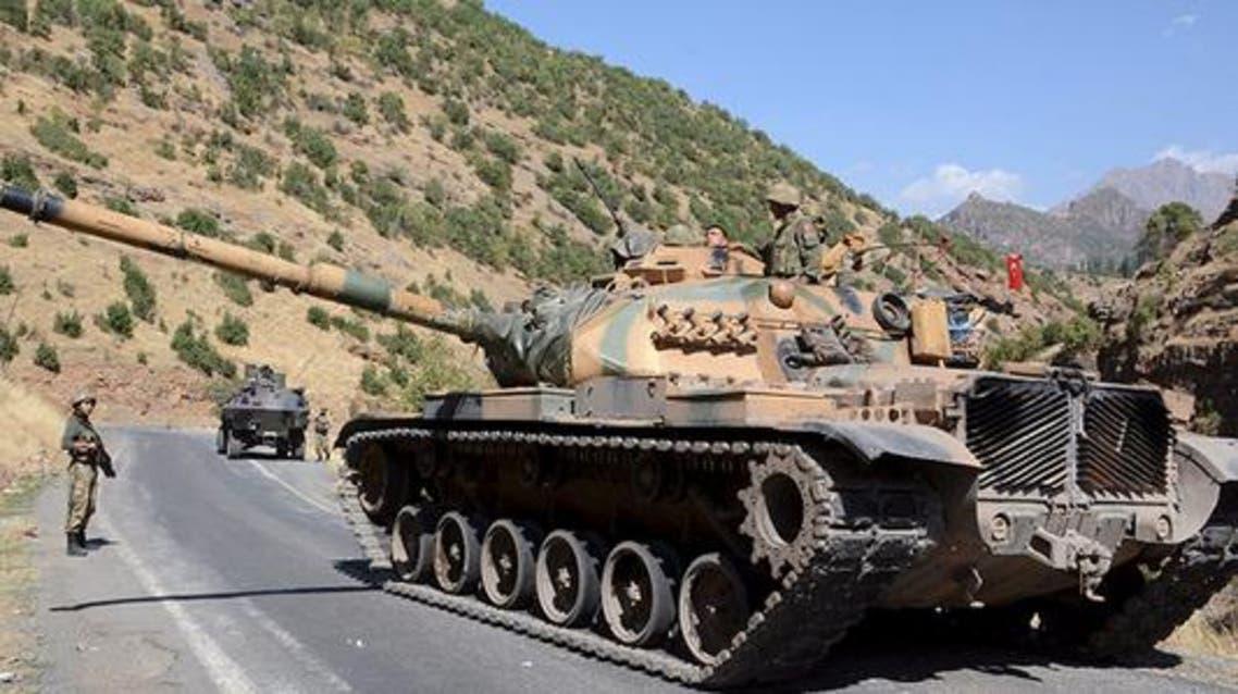دبابة تركية(أرشيفية)
