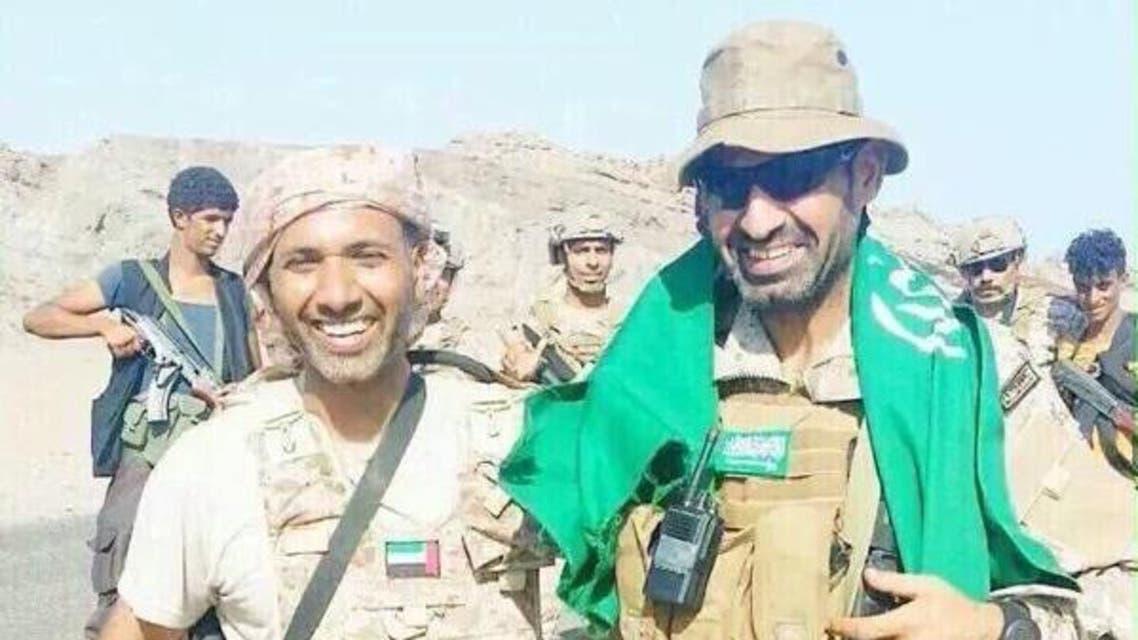 مقتل قائد القوات الخاصة السعودية في اليمن عبدالله بن محمد السهيان وضابط القوات الإماراتية سلطان الكتبي