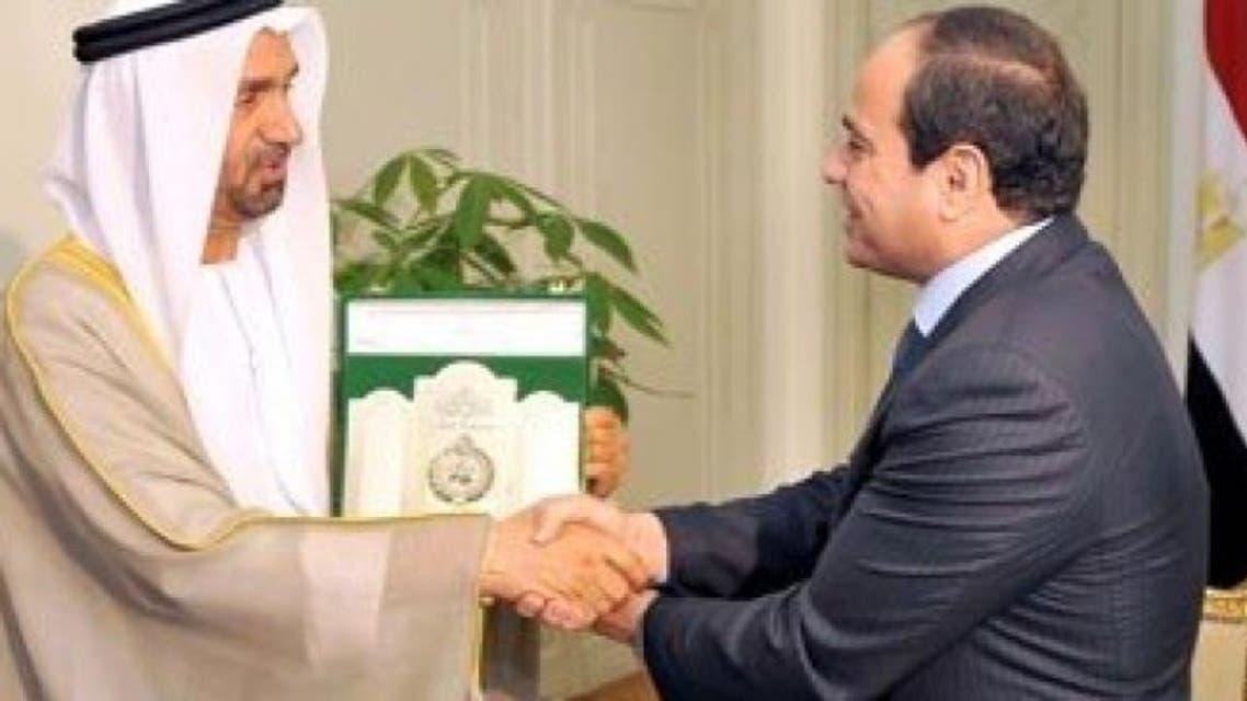 الرئيس المصري يستقبل رئيس البرلمان العربي - أرشيفية