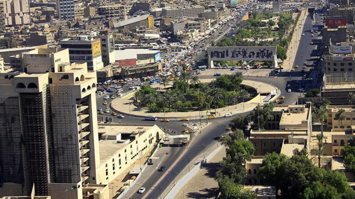 A street view of Baghdad (File photo AP)