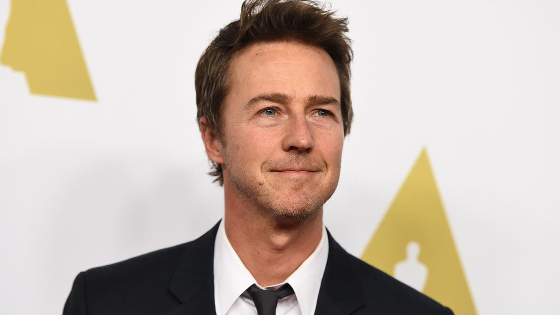 Edward Norton arrives at the 87th Academy Awards nominees luncheon at the Beverly Hilton Hotel on Monday, Feb. 2, 2015. (AP)