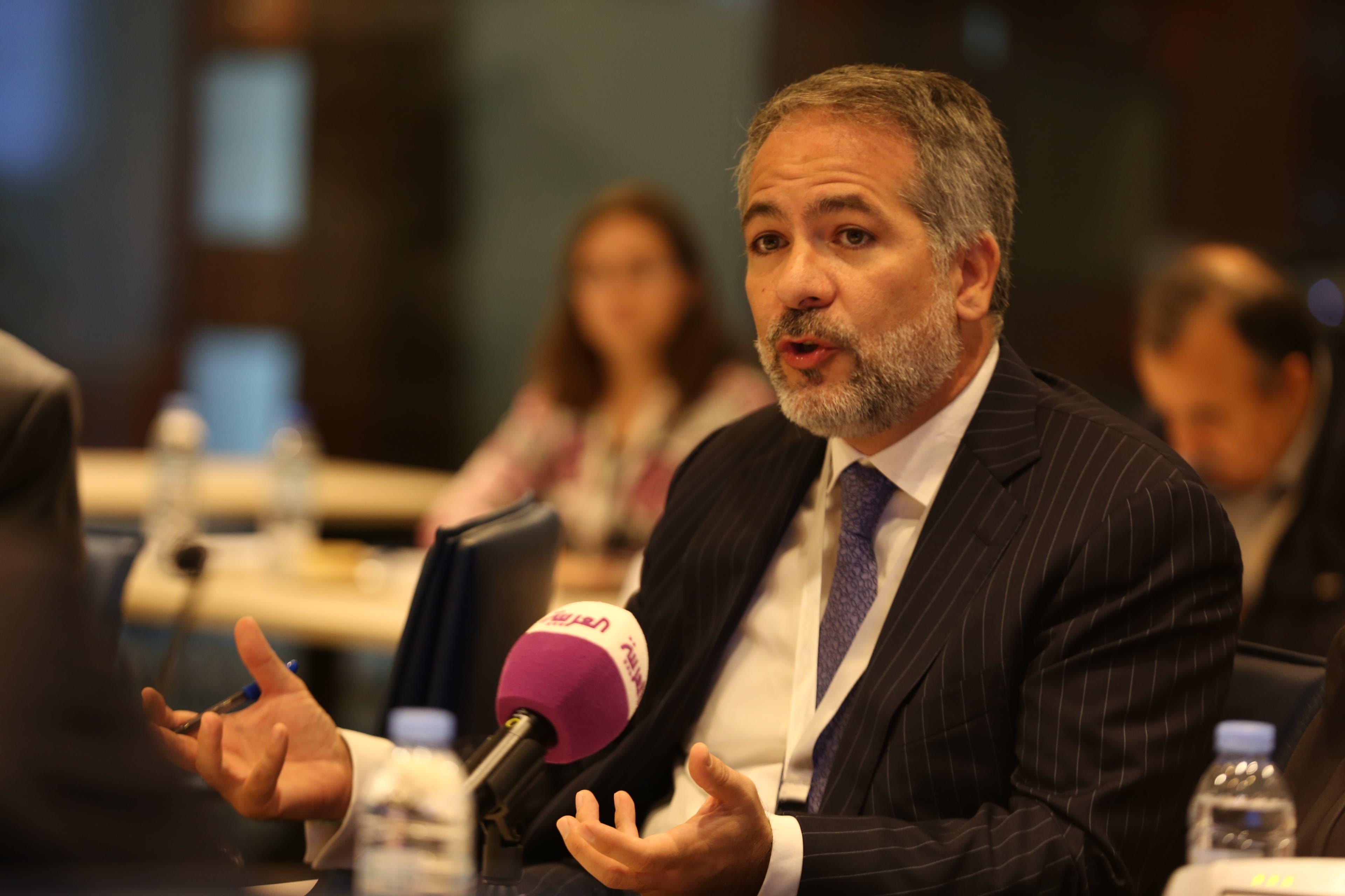 Julien Hawari, Co-CEO – MediaQuest. (Al Arabiya News)
