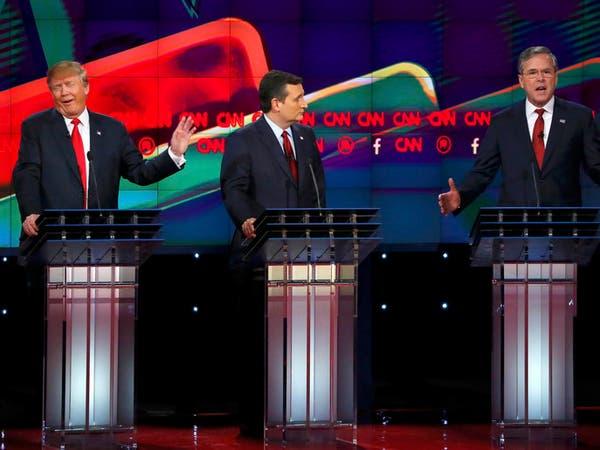 ترامب يعيد تأكيد مواقفه ضد المسلمين بآخر مناظرات 2015