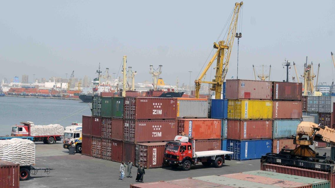 ميناء الإسكندرية - تجارة - مصر