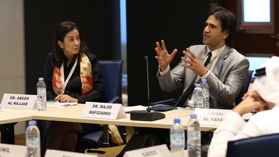 Media professionals and observers debated whether ISIS is a brand built by the media and how to counter propaganda. (Al Arabiya News)