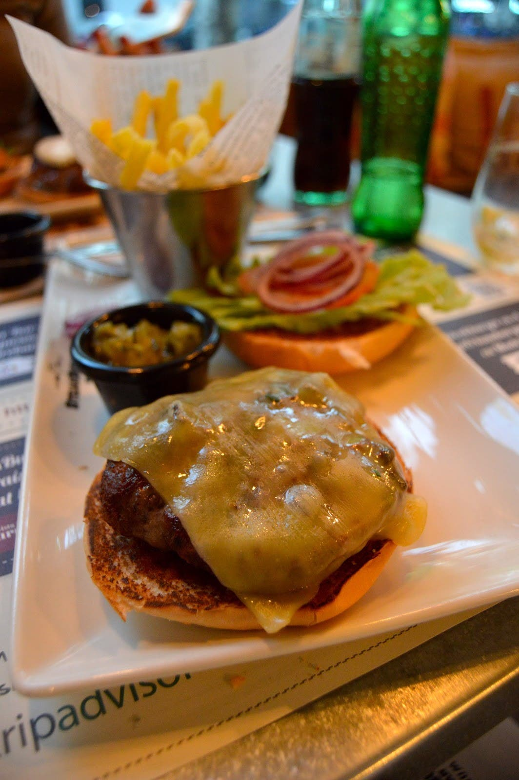 Steakburger Atocha, Madrid. (Al Arabiya News)