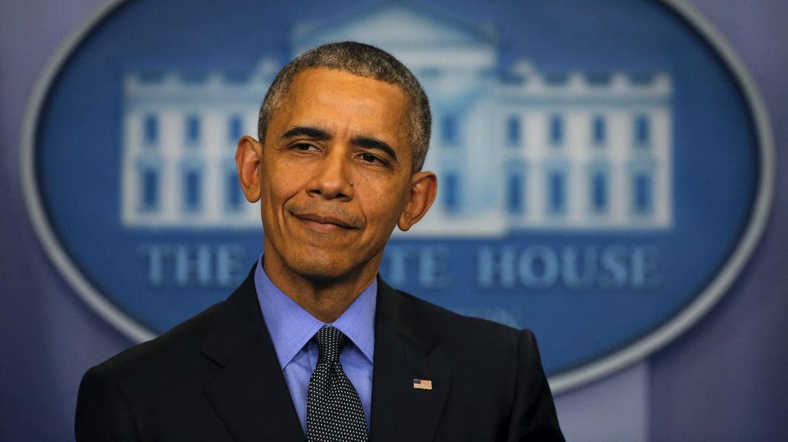 U.S. President Barack Obama pauses as he holds his end of the year news conference at the White House in Washington December 18, 2015. (Reuters)